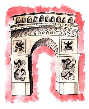 Anna Elkins - Arc de Triomphe