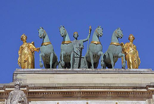 Arc de Triomphe du Carrousel by Harvey Barrison