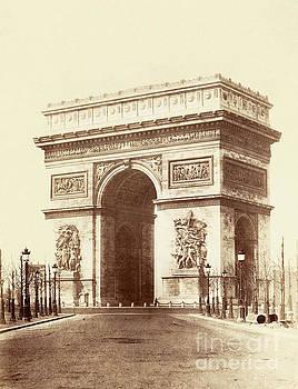 Arc de Triomphe Paris by Charles Soulier
