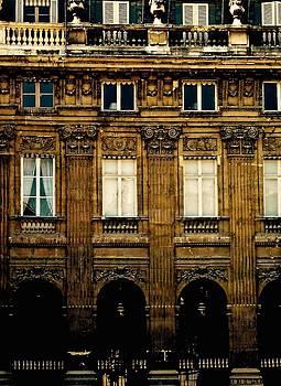 Arcades of the Palais Royale, Paris by John Tschirch