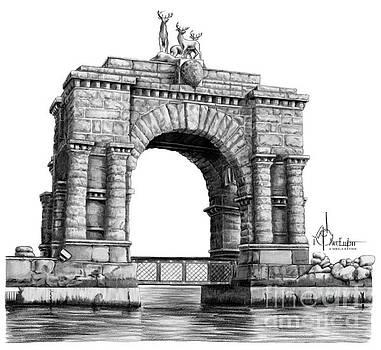 Arch at Boldt castle by Murphy Elliott