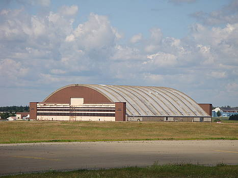 Arch Hanger - Loring AFB by Donna Holmberg