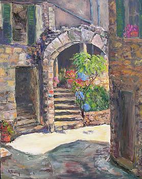Arch of Eze by Albert Fendig
