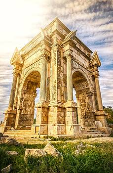 Arch of Septimius Severus by Ahmed Shanab