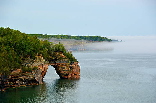 Arch Over Superior by SimplyCMB