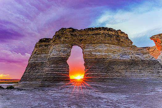 Arch Sunset by Tony Lazzari