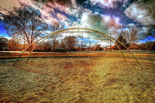 Arch Swing Set in the Park 76 by YoPedro