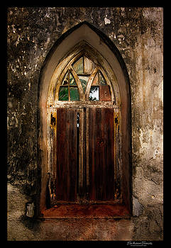 Arch Window Old Church Cat Island by Jim Austin Jimages
