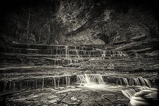 Archangel Cascades by Dewey Farmer