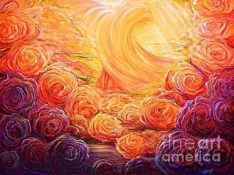 Archangel Jophiel- Heavens Garden by Christine Cullen-Reed