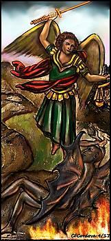 Archangel Michael by Carmen Cordova