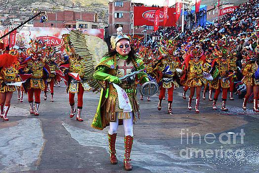 James Brunker - Archangel Michael Leading Devils at Oruro Carnival Bolivia