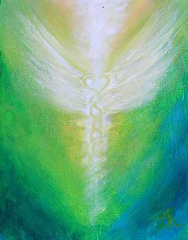 Archangel Raphael  by Lucinda Rae