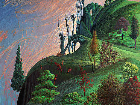 Arched Hills by Lisa Jeanne Graf