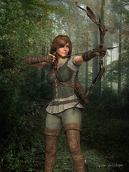 Jayne Wilson - Archer in the Forest