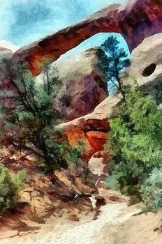 Michelle Calkins - Arches National Park Trail