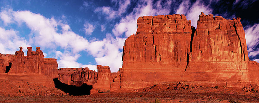 Arches Pano by Norman Hall