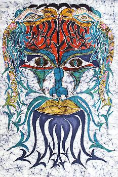 Archetypal Mask by Carol  Law Conklin