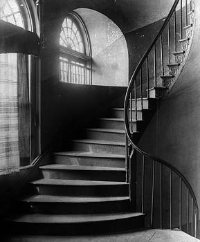 Arching stairwell by Crescent City Collective