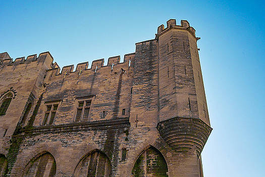 Architectural Detail Palais des Papes Avignon France by Kimberly Blom-Roemer
