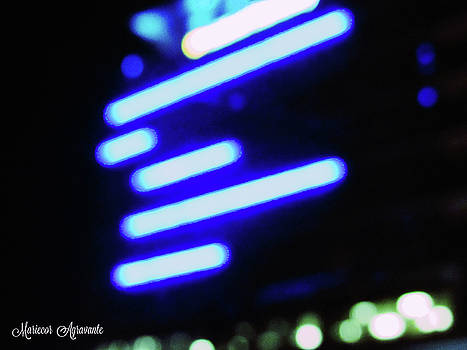 Architecture by Night Lights by Mariecor Agravante
