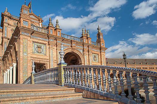 Jenny Rainbow - Architecture Complex Plaza de Espana in Seville