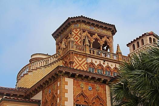 Architecture of Ca'D'Zan -House of John Ringling I by Michiale Schneider
