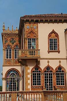 Architecture of Ca'D'Zan -House of John Ringling III by Michiale Schneider