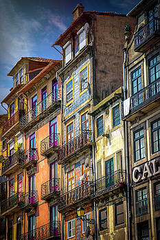 Architecture of Old Porto Portugal  by Carol Japp