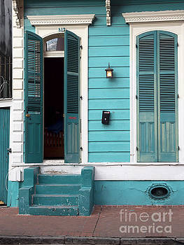 Architecture of the French Quarter New Orleans by Louise Heusinkveld