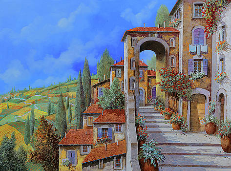 Arco Dopo Le Scale by Guido Borelli