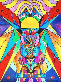 Arcturian Metamorphosis Grid  by Teal Eye Print Store