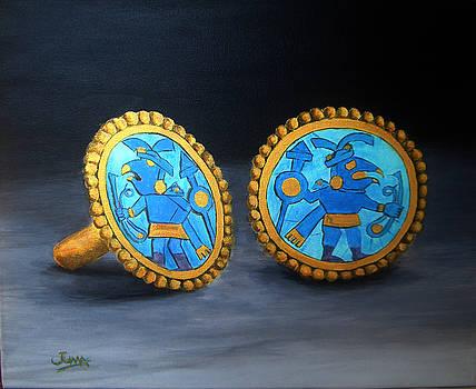 Aretes Inka by Juan Ramal