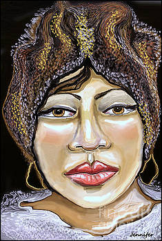 Aretha The Queen Of Soul by Jennifer Miller