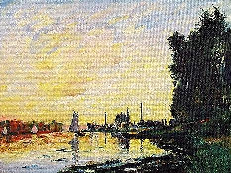 Argenteuil Late Afternoon by Peter Kupcik