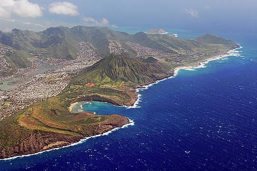 Reimar Gaertner - Arial view of Hawaii Kai and Koko Head Park