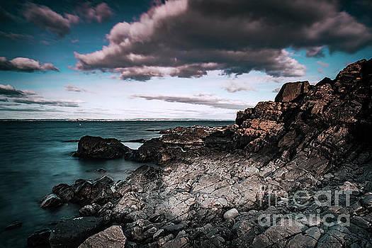 Sophie McAulay - Arild rocky beach landscape