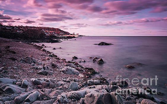 Sophie McAulay - Arild rocky coastline