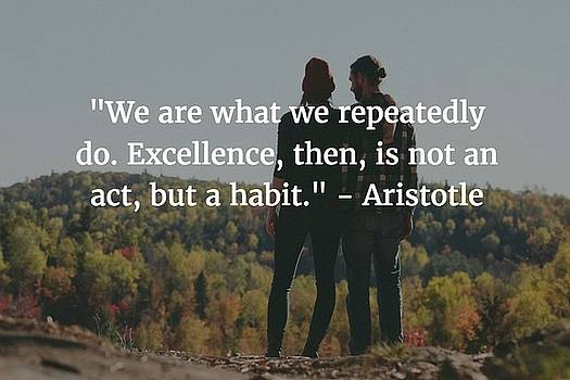 Aristotle Quote by Matt Create