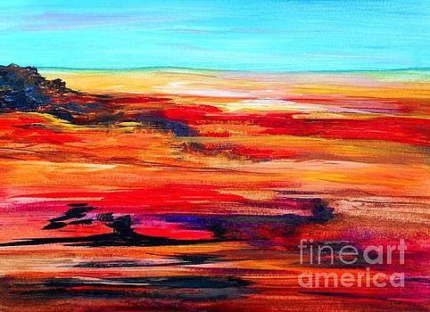 Arizona Abstract Landscape by Eloise Schneider