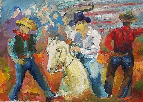 Arizona Cowboys  by Roland Kay