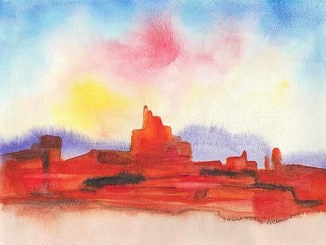 Suzanne  Marie Leclair - Arizona Desert Rocks