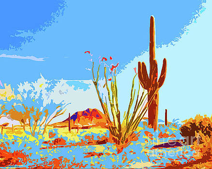 Arizona Landscape by Jerome Stumphauzer