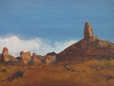 Arizona Monolith by Suzette Kallen