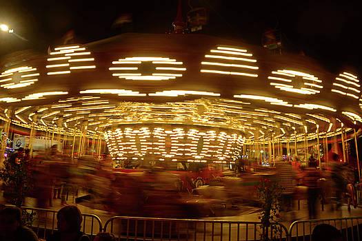 Arizona State Fair Carousel October 26, 2017 by Brian Lockett