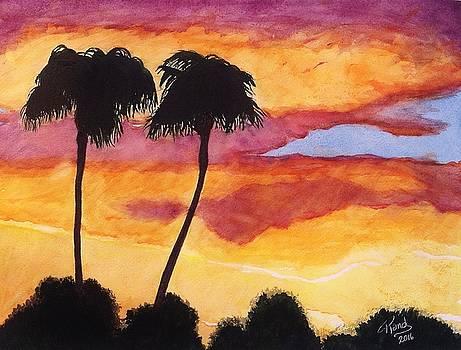 Arizona Sunrise - Scottsdale 5 A.M. by Rand Swift