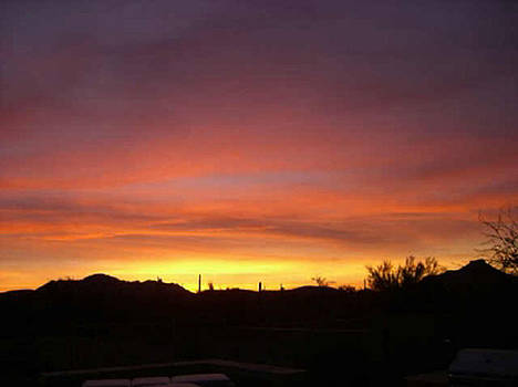 Arizona Sunset by KR Moehr