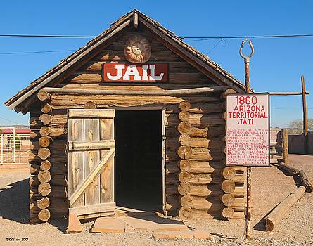 Arizona Territorial Jail, Historic Route 66, Seligman Arizona by Victoria Oldham