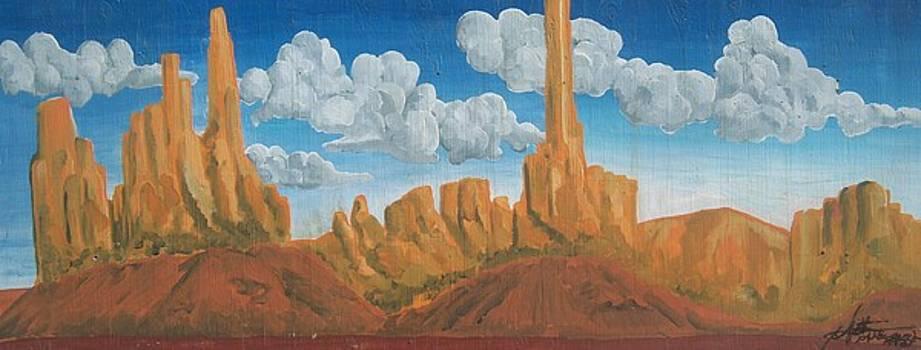 Arizona Towers by Mitchell McClenney