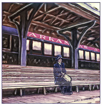 Arkansas And Missouri Depot by Roy Inman
